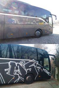 wardawas_potsdam_vorher_nachher_Grafittientfernung_Bus_Reisebus_Fahrzeug_Lack