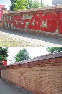 wardawas_potsdam_vorher_nachher_Grafittientfernung_Mauer_Luftschiffhafen_Potsdam