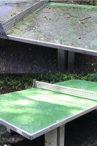 wardawas_potsdam_vorher_nachher_Spezialreinigung_Tischtennisplatte_outdoor