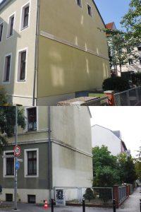 Farbverbesserung Fassade