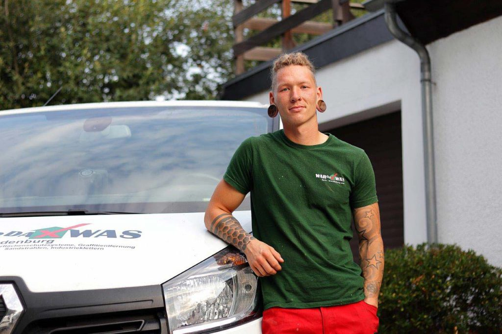 WARDAWAS Potsdam Team Antonio Dachner