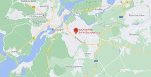 WarDaWas Berlin Brandenburg Standort Anfahrt Google Maps