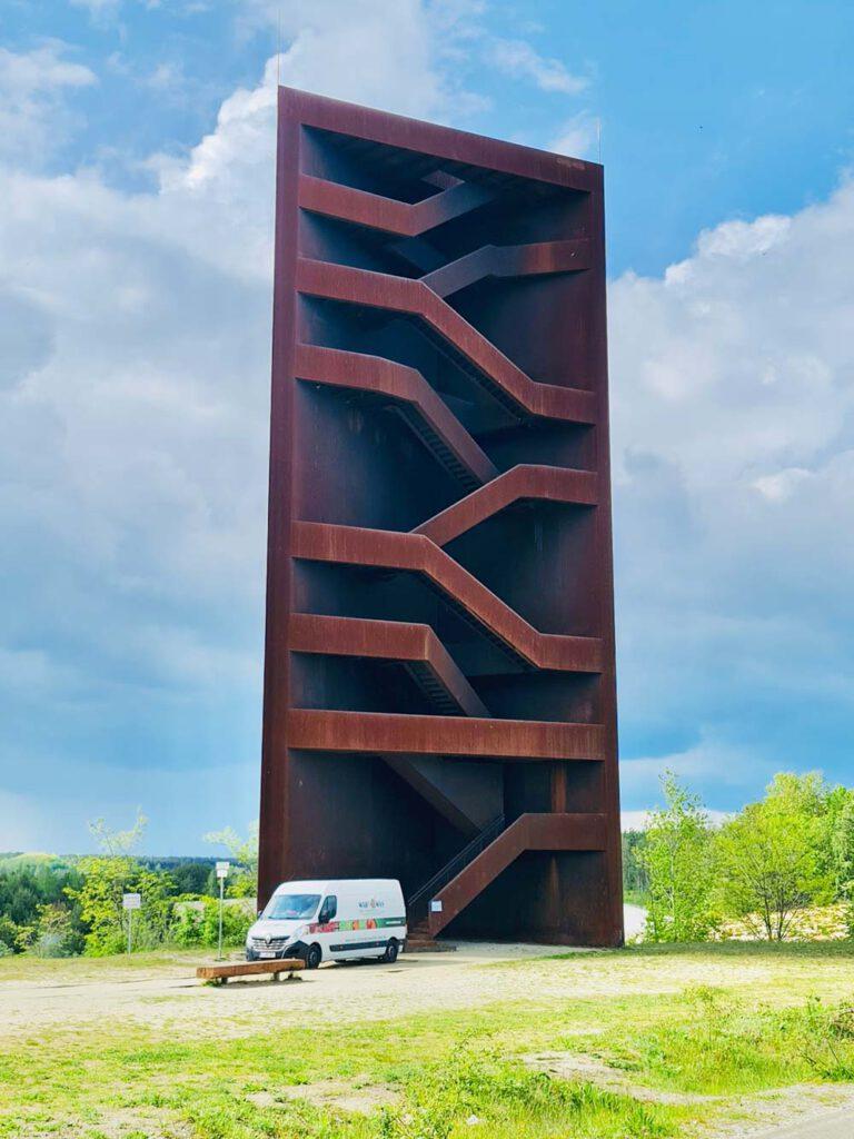 NACHHER Rostiger Nagel Kultur Denkmal Kunst Senftenberg